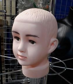 Манекен детской головы - фото 6665